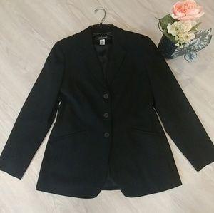 JONES NEW YORK, Casual black blazer.
